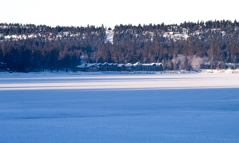 Frozen Payette Lake, Shore Lodge, Ken Swaim - 1/2021