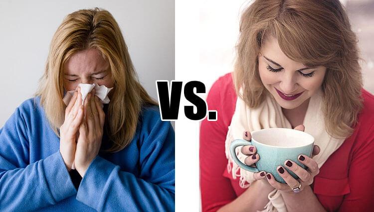 Sick vs. Well