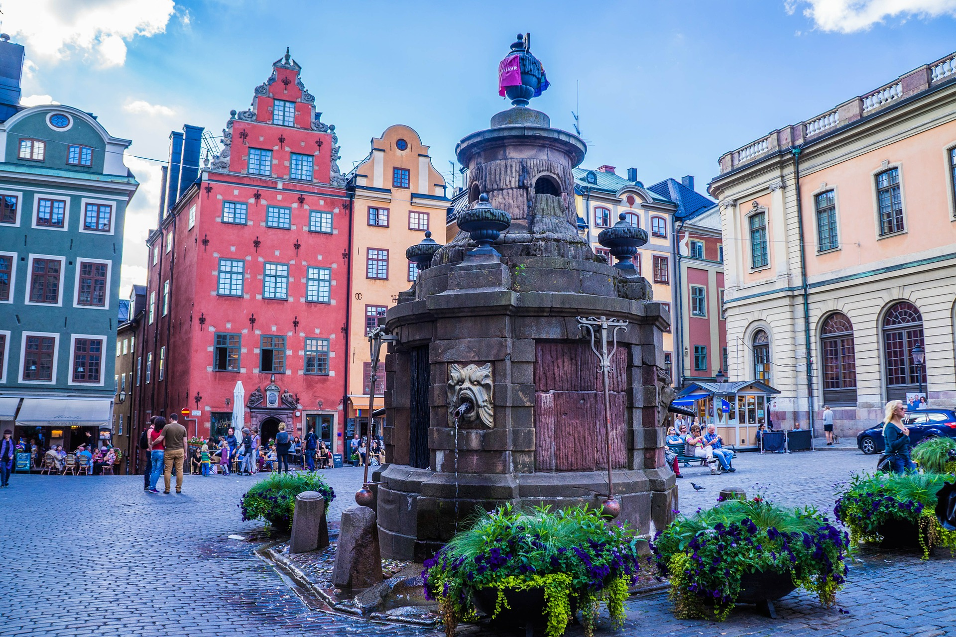 Stockholm, Sweden Image by Michelle Maria from Pixabay