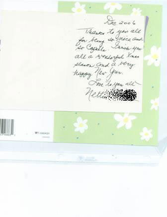 thank you note for Dr. Langston, Delray Beach Chiropractor