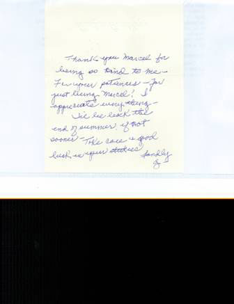 chiropractic patient thank you to {PRACTICE NAME}