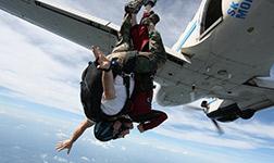 Dr. Vince skydiving