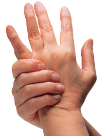 arthritis pain in the wrist and hand