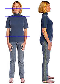 Chiropractic improves posture