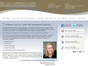 Cedar Mill Chiropractor