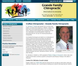 Crofton Chiropractor