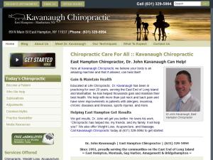 East Hampton Chiropractor