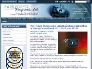 Park Forest Chiropractor