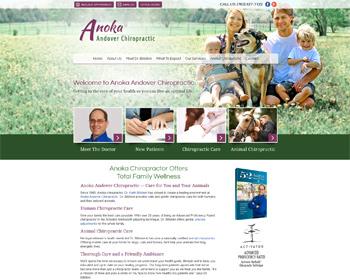 Anoka-Andover Chiropractic Website