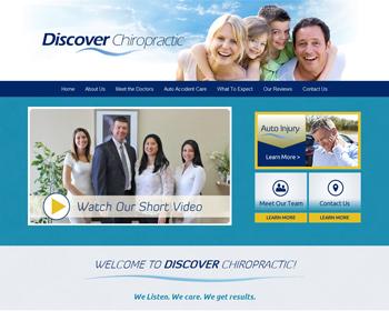 Discover Chiropractic Website