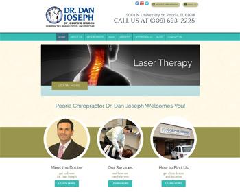Dr Dan Joseph Peoria Chiropractor Website