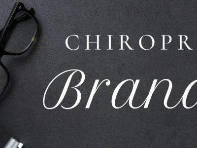 chiropractic branding featured image