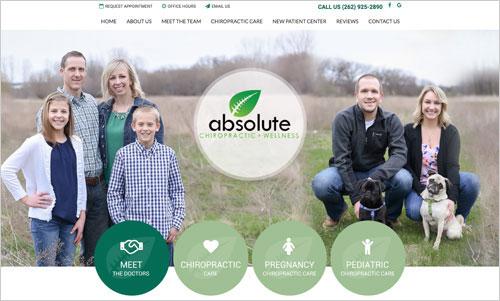 Absolute Chiropractic Website