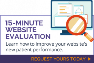 chiropractic website evaluation