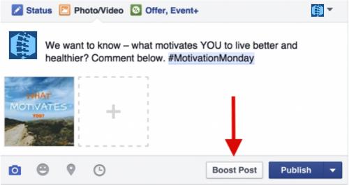 Boosting Posts