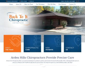 Chiropractor Arden Hills