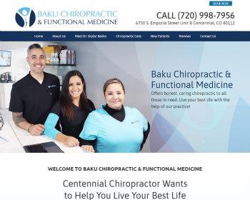 Chiropractor Centennial CO