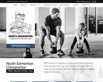 Chiropractor North Edmonton