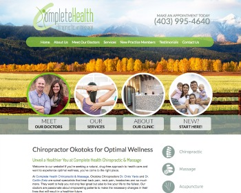 Chiropractor Okotoks
