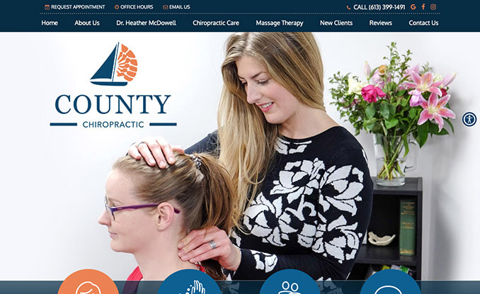 County Chiropractic Centre<br />
