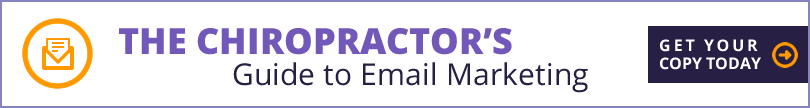 Chiropractor's Guide to Email Marketing