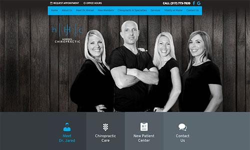 Himsel Chiropractic Website
