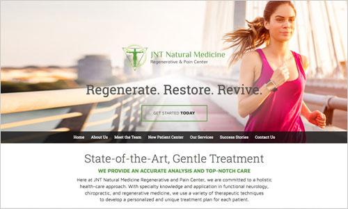 JNT Natural Medicine Website