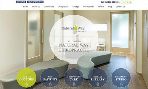 Natural Way Chiropractic Website