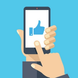 Social Media Thumbs Up
