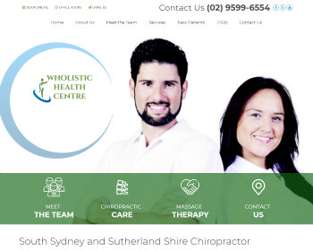 Chiropractor South Sydney & Sutherland Shire NSW