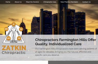 Chiropractor Farmington Hills