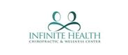 infinity symbol couple chiropractic logo sample