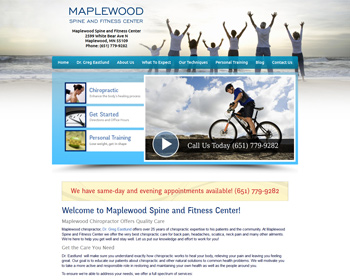 Maplewood Spine and Fitness Center
