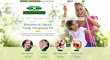 Olympia Chiropractic Website