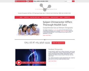Vietnam Chiropractic Siagon Website