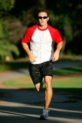 man running image