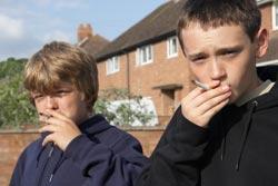 kids smoking image