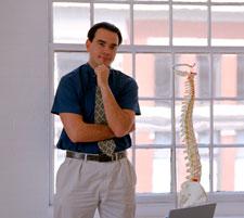 Child chiropractic adjustment image