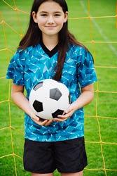 Scoliosis natural healing soccer image