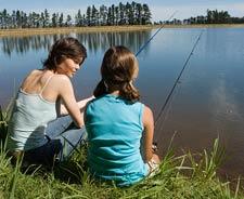 Scoliosis natural healing fishing image