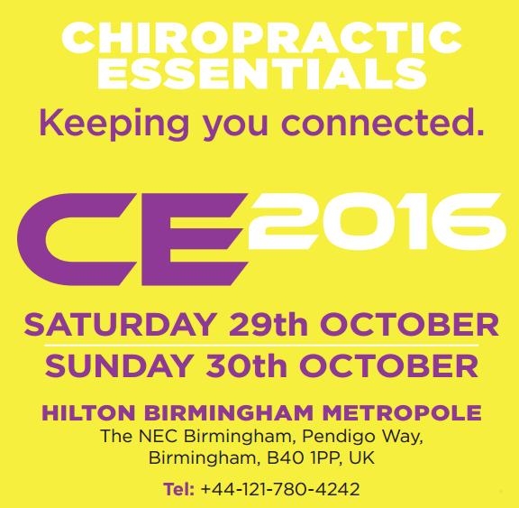 Chiropractic Essentials 2016