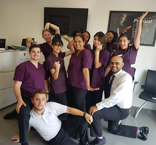 The Enfield Chiropractic Clinic team