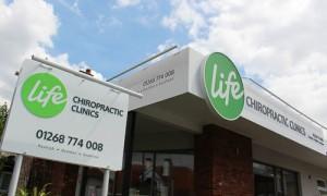 Life Chiropractic Outside