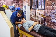 Rock Chiropractic Adjustment