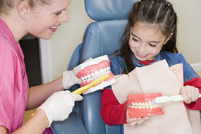 Proper brushing is key to good oral health!