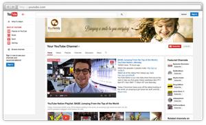 YouTube branding for dentists
