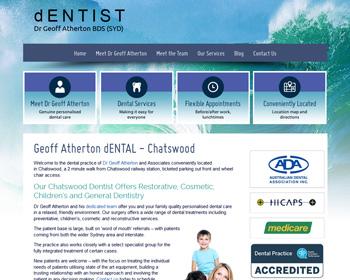 Website Design for Dentists in Australia