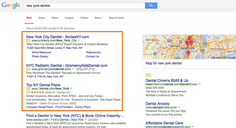 Pay Per Click for Dentists