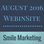 August 2016 WebinSite