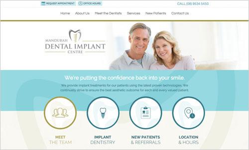 Our Best Dental Website Designs | Smile Marketing